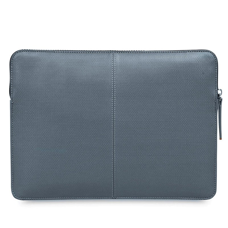 Knomo - Embossed Laptop Sleeve 12 inch Silver 05
