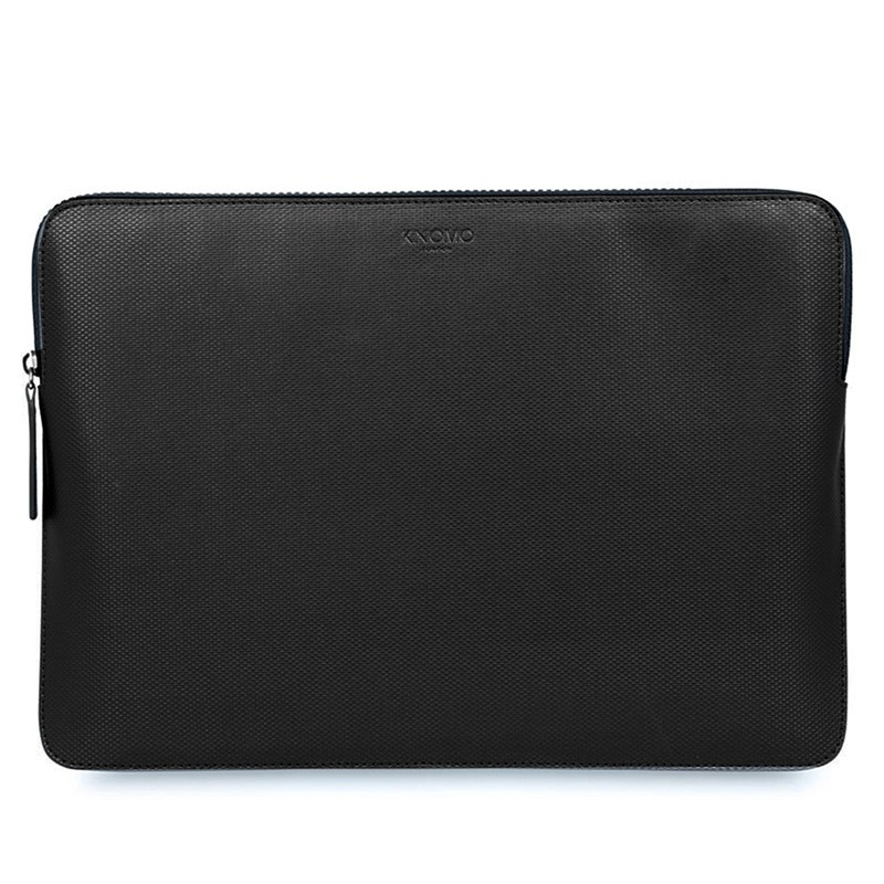 Knomo - Embossed Laptop Sleeve 13 inch Black 0