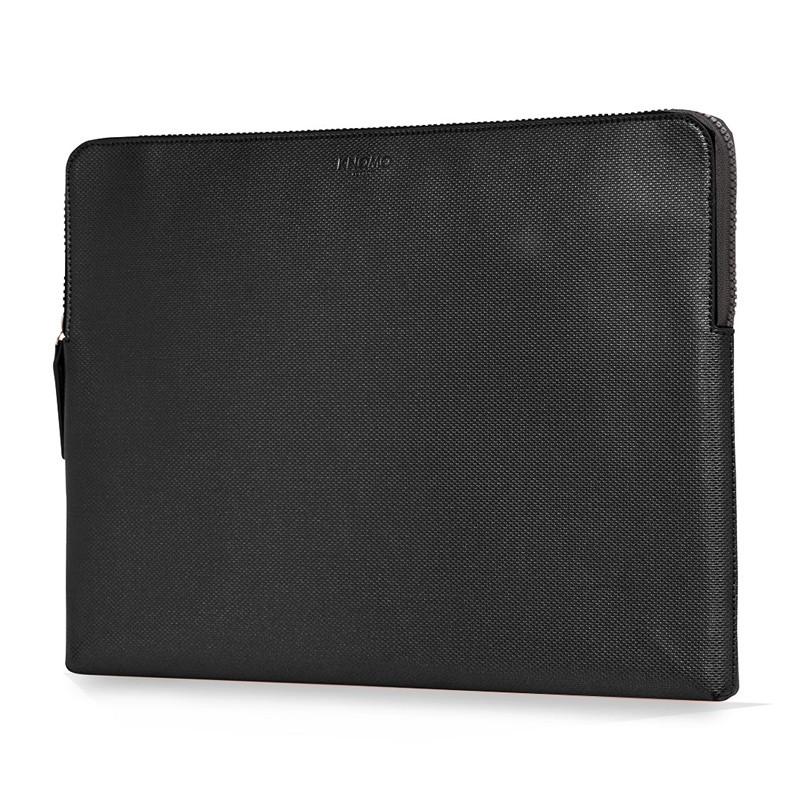 Knomo - Embossed Laptop Sleeve 15 inch MacBook Pro Black 02