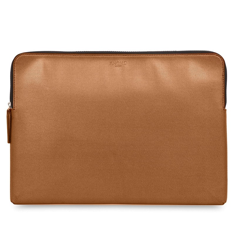 Knomo - Embossed Laptop Sleeve 15 inch MacBook Pro Bronze 01