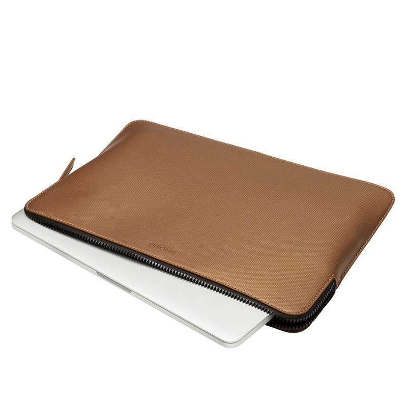 Knomo - Embossed Laptop Sleeve 15 inch MacBook Pro Bronze 05
