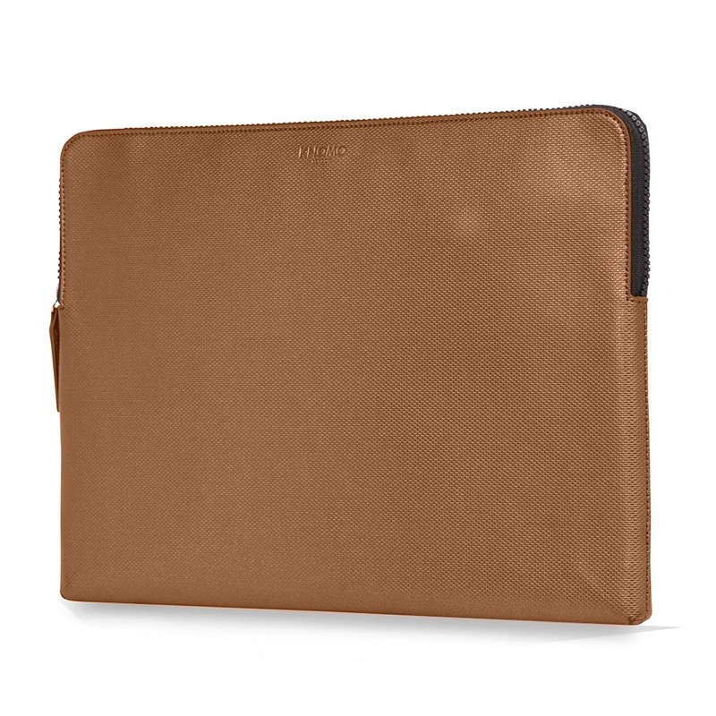 Knomo - Embossed Laptop Sleeve 15 inch MacBook Pro Bronze 02