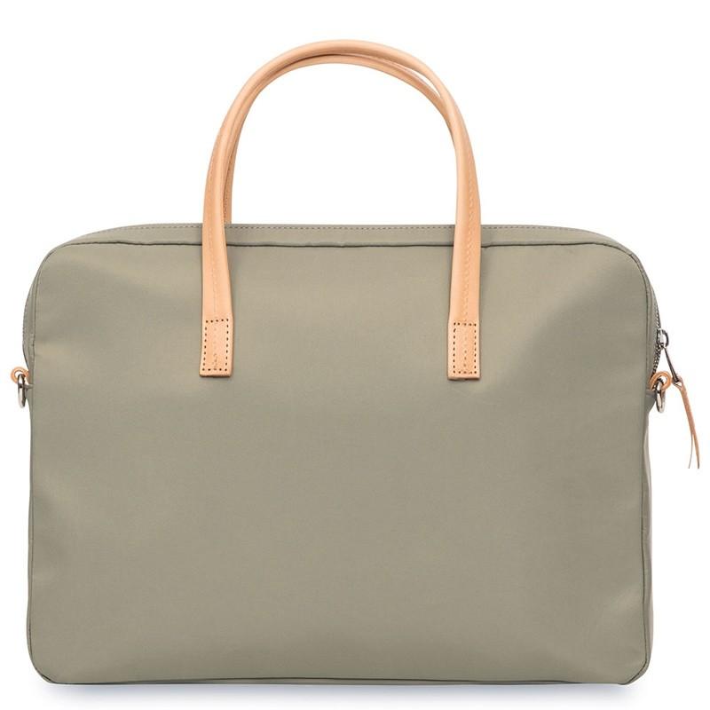 Knomo - Hanover 14 inch Slim Laptop Briefcase Olive 06