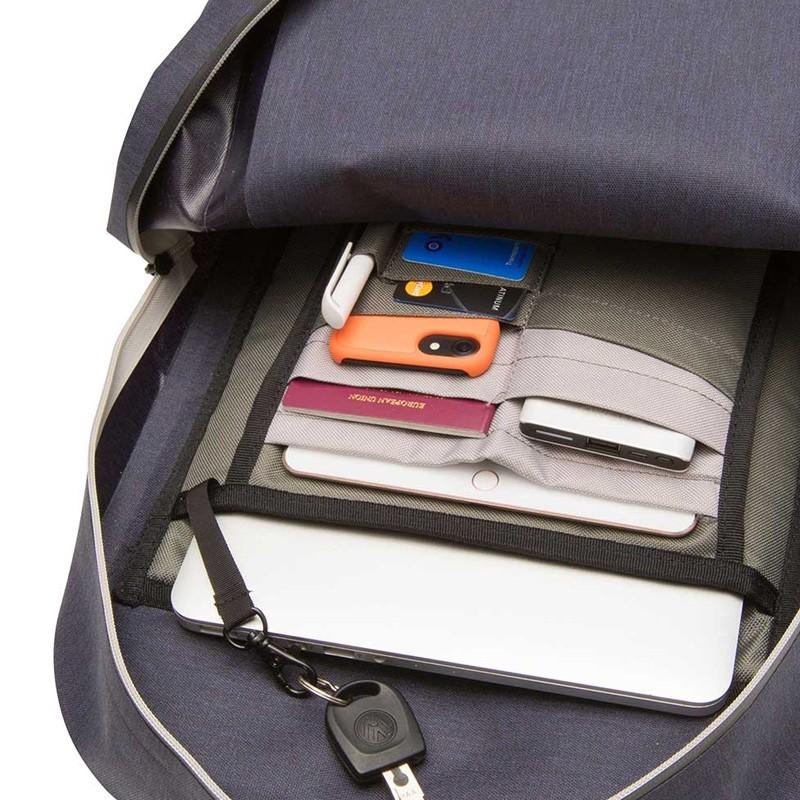 Knomo - Harpsden 14 inch Laptoprugzak Blue 03