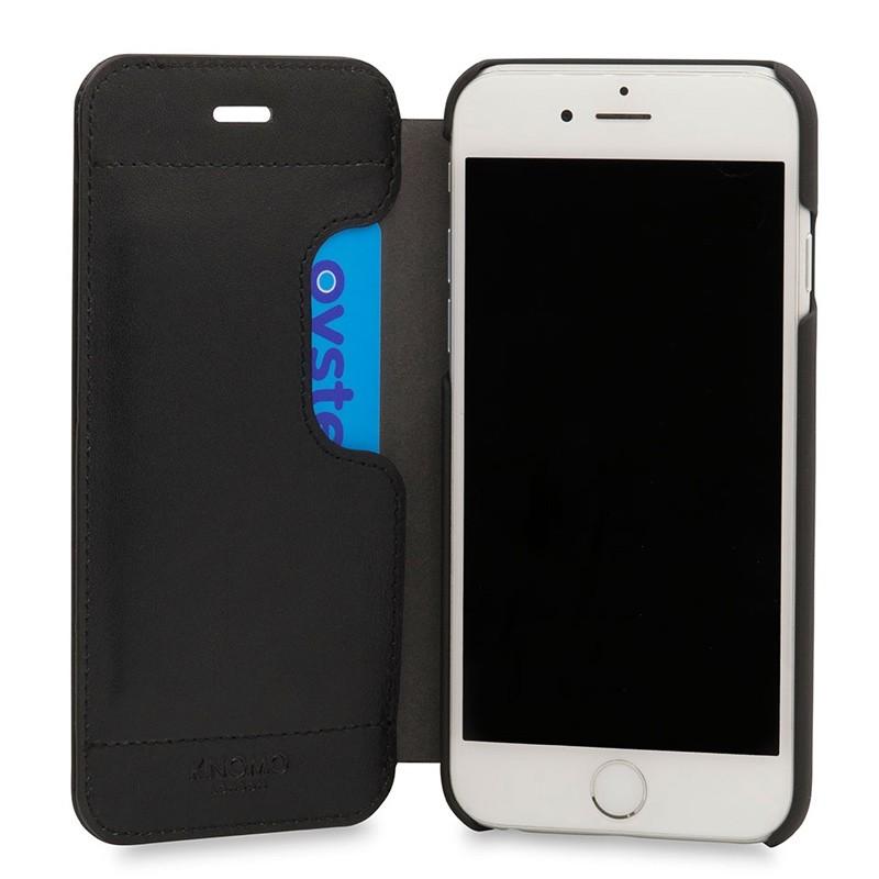 Knomo Leather Folio iPhone 7 Black 04