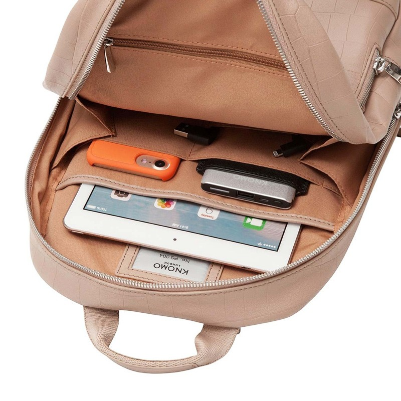 Knomo - Mini Mount 10 inch Tablet Rugzak Nude 05