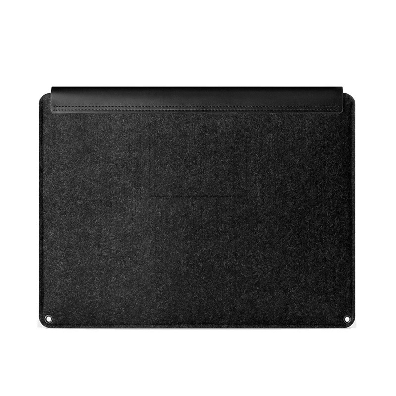 Mujjo Leather Sleeve Macbook 12 inch black - 3