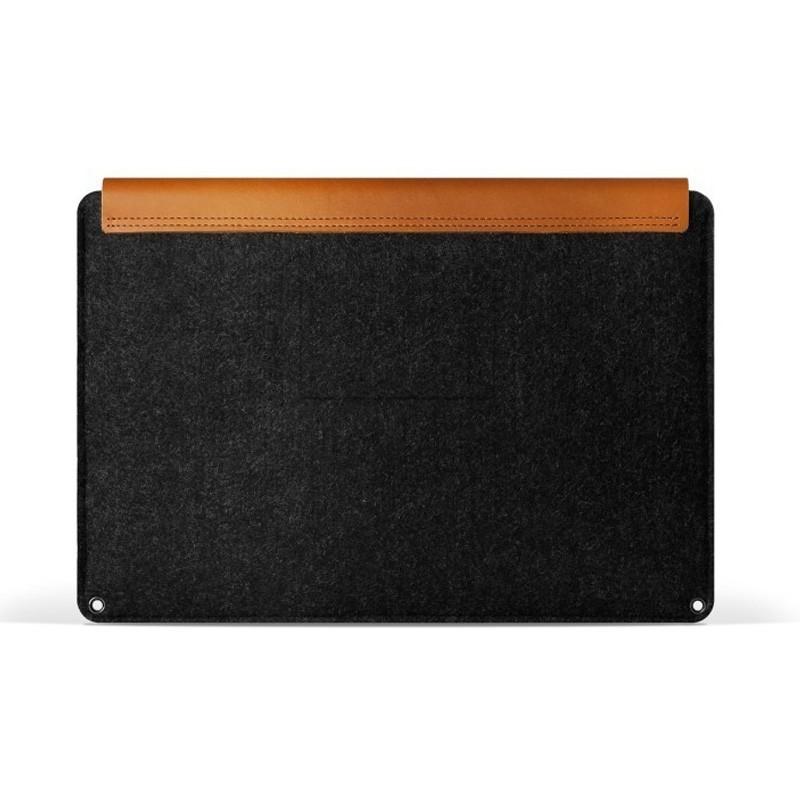 Mujjo Leather Sleeve Macbook 12 inch tan - 3