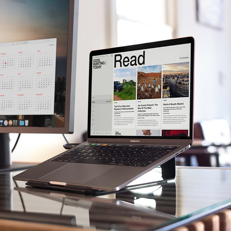 Twelve South - ParcSlope voor MacBook en iPad Pro Black 10