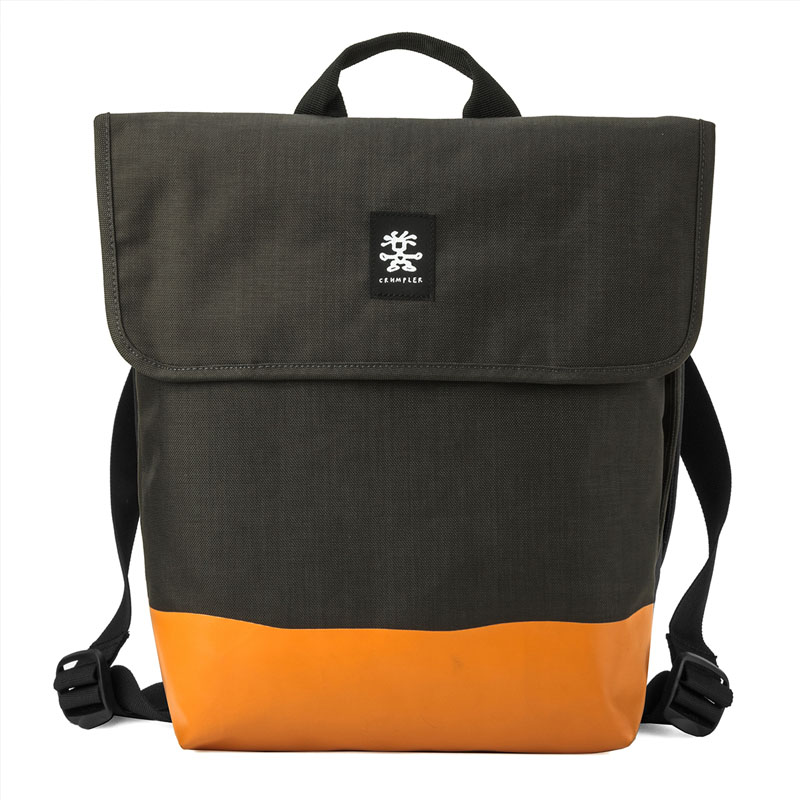 Crumpler Private Surprise Backpack M 13 inch Charcoal/Orange Crumpler kopen