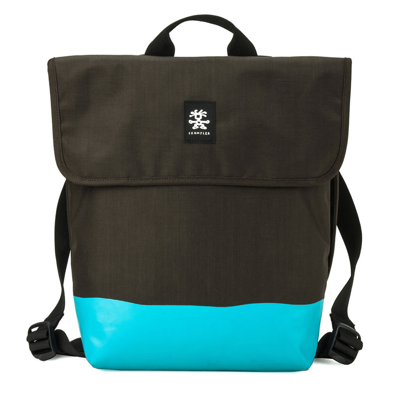 Crumpler Private Surprise Backpack M 13 inch Espresso/Turqoise Crumpler kopen