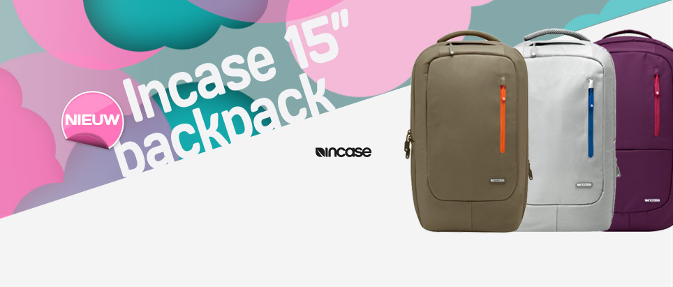 "Incase 15"" Nylon Backpack"